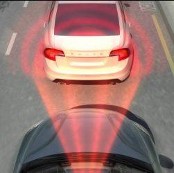 City Safety™ - лазерный датчик