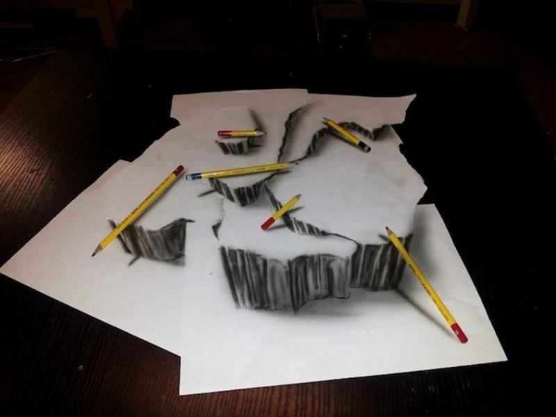 Рамон Бруин. Просто рисунки на бумаге