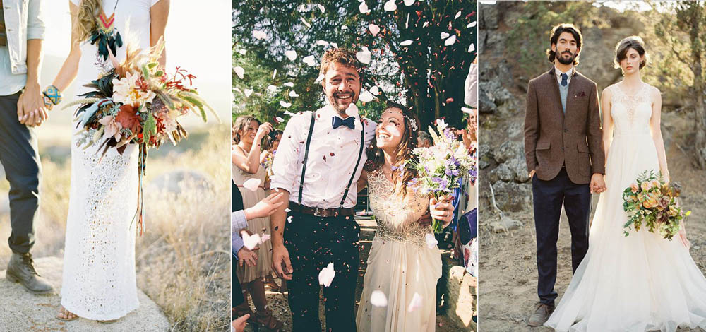 стильные прически для очаровательных невест