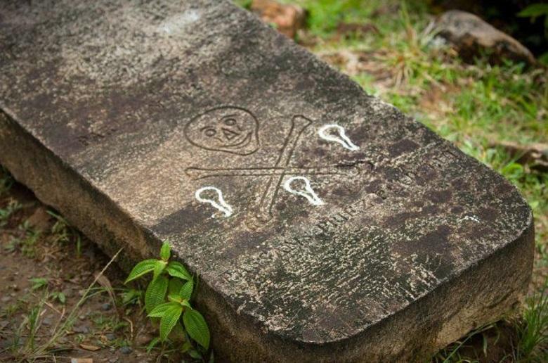 пиратское кладбище Сент-Мари