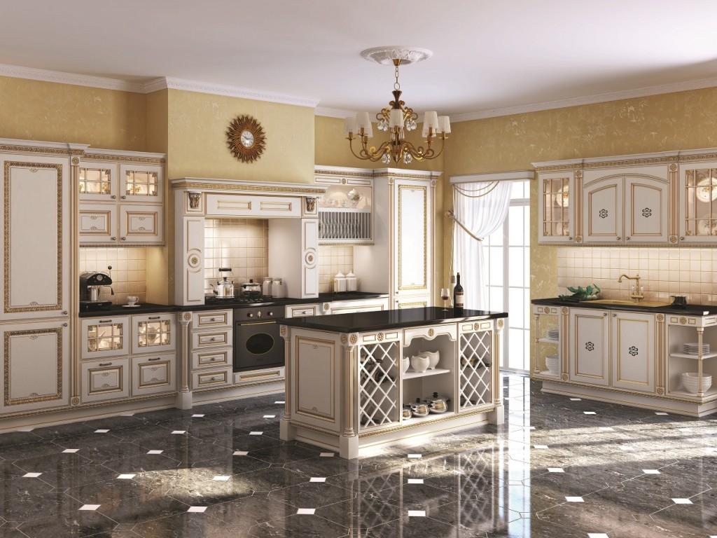 кухня в роскошном стиле