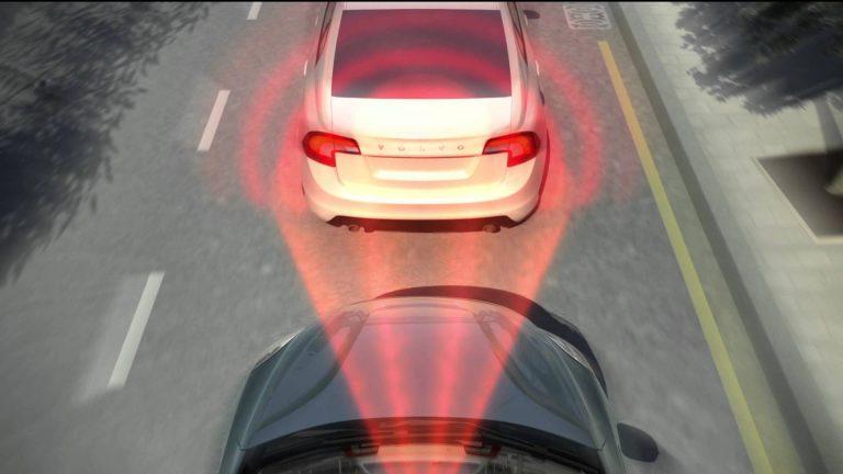 City Safety™ – лазерный датчик