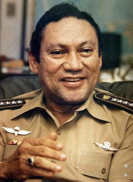 диктатор Панамы Мануэль Норьегу