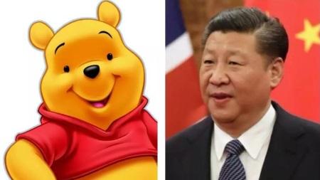 В Китае запретили Винни-Пуха из-за сходства с Си Цзиньпином