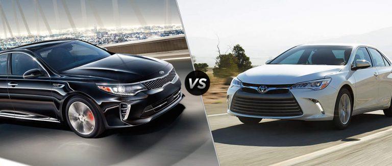 Седаны Toyota Camry и Kia Optima  завоевали популярность во всем мире