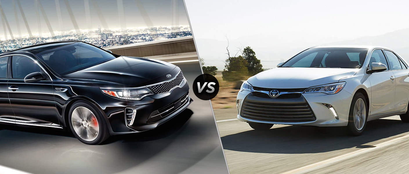 Седаны Toyota Camry и Kia Optimaзавоевали популярность