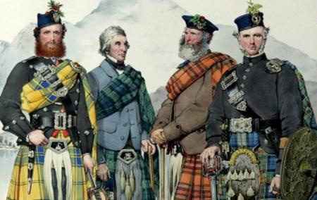 Что шотландцы сделали в России