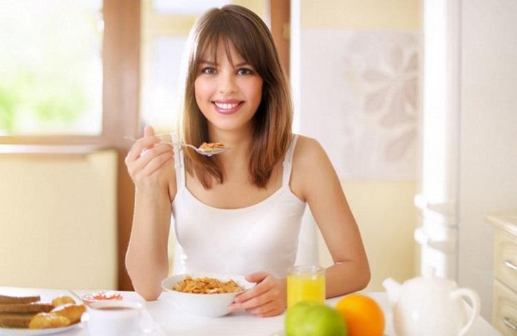 завтрак для женщины