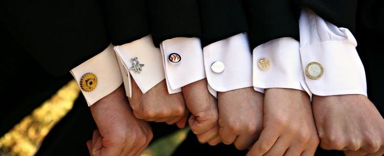 запонки для свадьбы