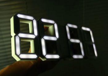 Электронные светодиодные часы