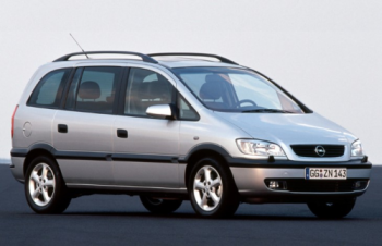 Характерные неисправности Opel Zafira