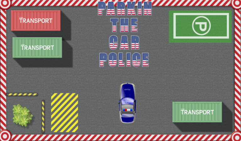 Игра Parking the Car Police
